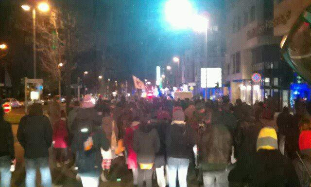 Foto: Demonstration Duisburg 10.12.2011