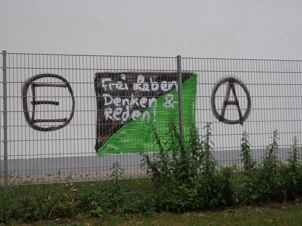 Foto (c) Hafenstaedter: Graffito, Hochfeld, Juni 2014